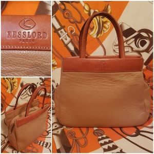 Leather  bag Kessford Paris